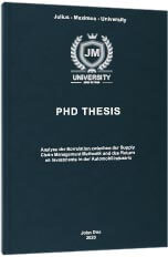 PhD premium hardcover