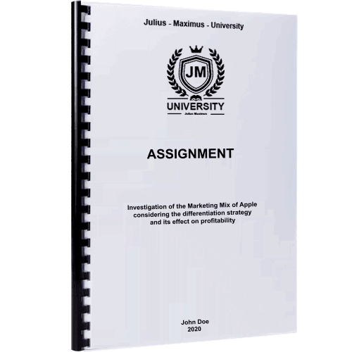 Assignment printing and binding plastic spiral binding