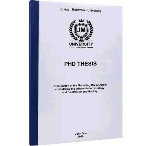PhD printing with thermal binding blue