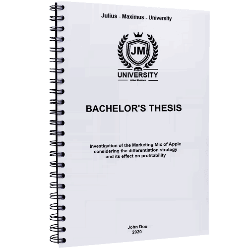 Thesis printing and binding with metal spiral binding