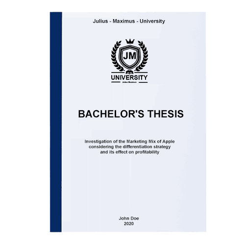 Thesis printing with thermal binding blue front