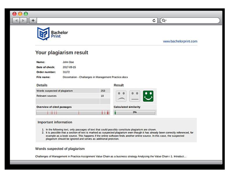 Plagiarism report plagiarism detector