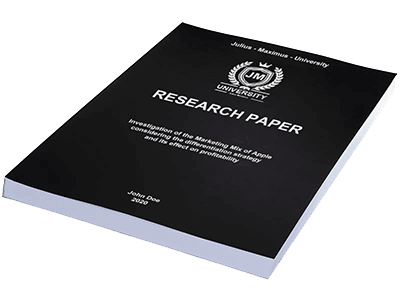 Research Paper softcover individual