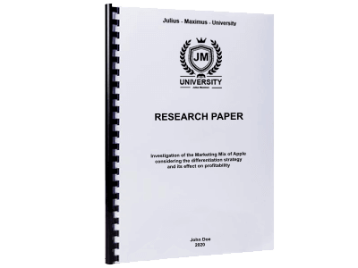 Research Paper spiral binding plastic black
