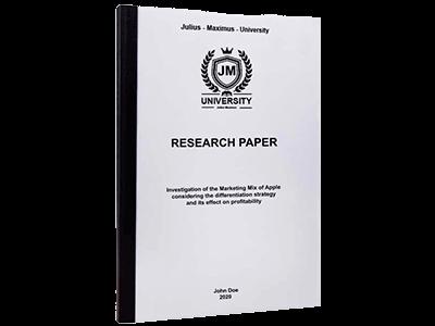 Research Paper thermal binding black