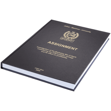 assignment printing binding leather binding standard embossing