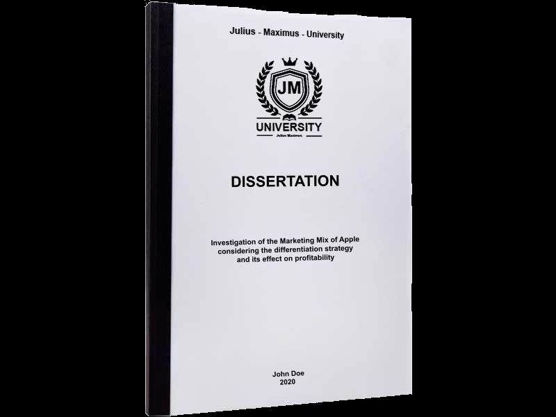 dissertation binding thermal binding