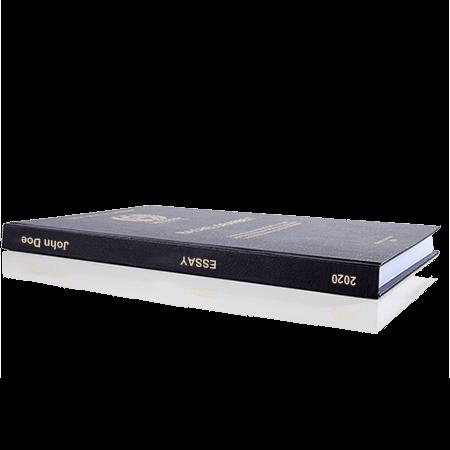 essay printing binding leather binding standard spine