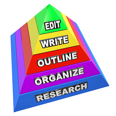 how to write an essay pyramid