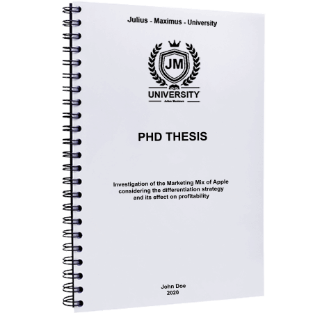 phd printing binding black spiral metal