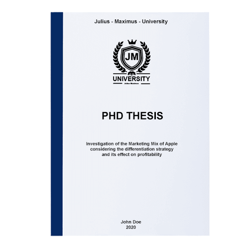 phd thesis printing binding thermal binding