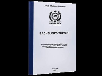 thesis blue thermal binding