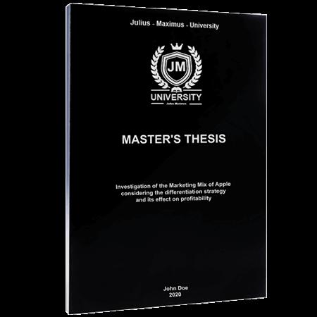 thesis printing binding individual softcover black