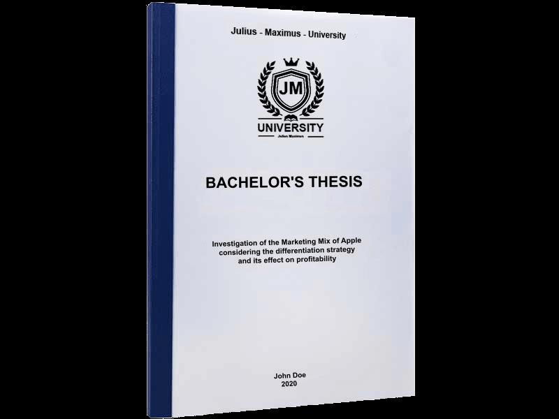 thesis printing binding thermal binding