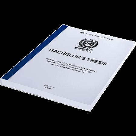thesis thermal binding blue
