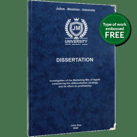 dissertation printing binding leather binding