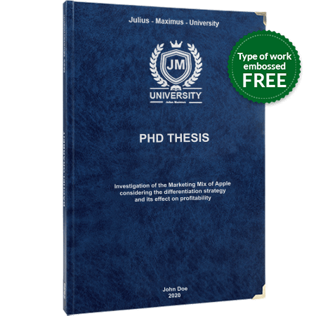 phd printing binding leather binding