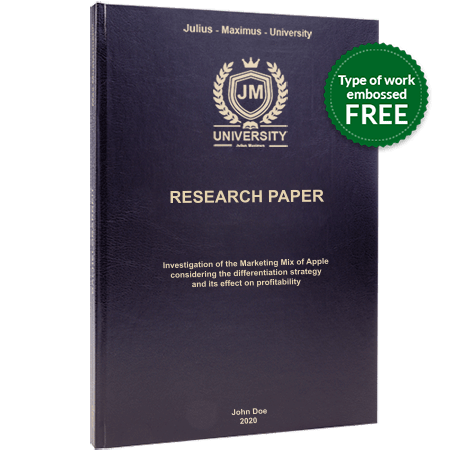 research paper printing binding leather binding black standard