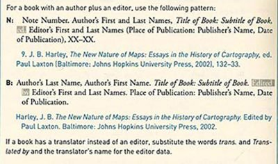 Chicago Style Citation Author(s) Editor footnotes