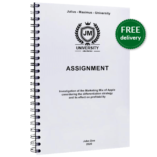 Assignment pinting spiral binding free delivery