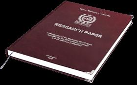 BachelorPrint paper binding
