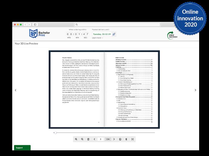 Dissertation printing binding look inside function