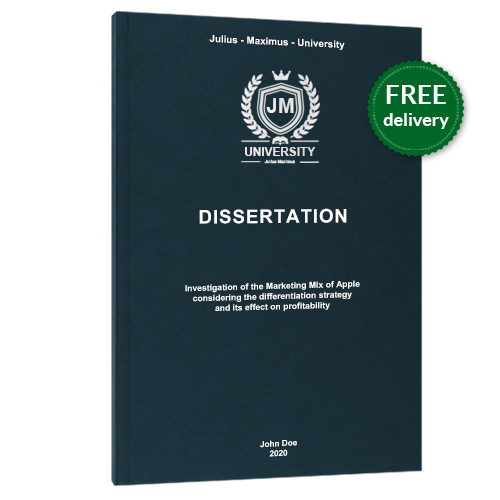 Dissertation printing premium leather book binding