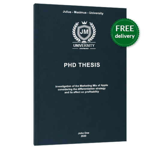 PhD printing premium leather book binding free delivery