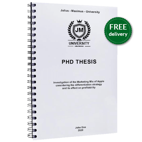 PhD printing wire binding free delivery