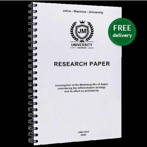Research paper wire binding printing binding