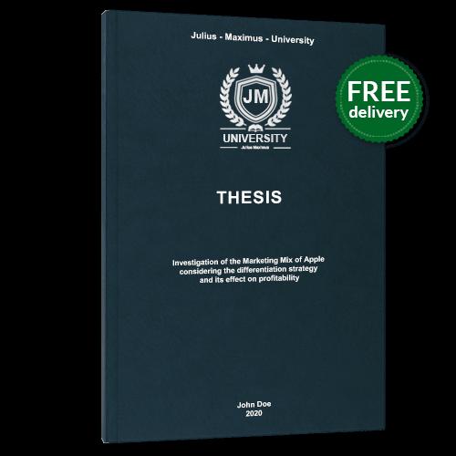 Thesis binding premium leather book binding