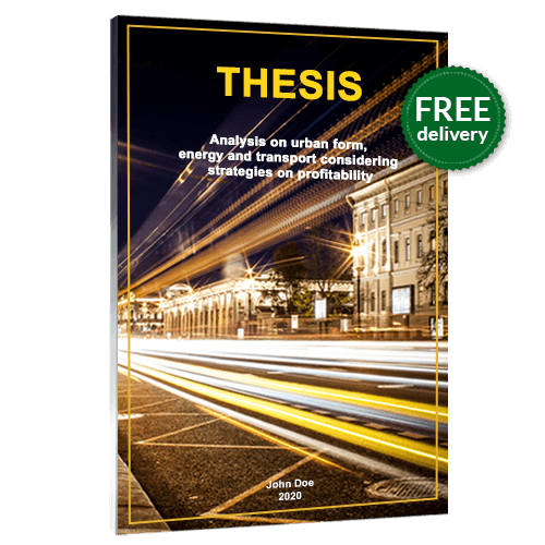 Thesis binding softcover