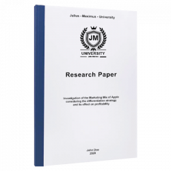 research topics paper printing & binding
