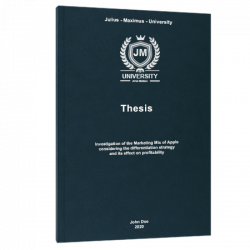 thesis defense thesis printing & binding