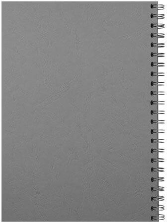 Comb binding back grey