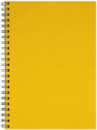 Comb binding back yellow