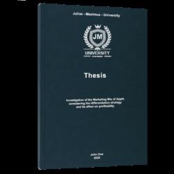 descriptive research thesis printing & binding