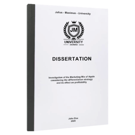 dissertation binding Chicago