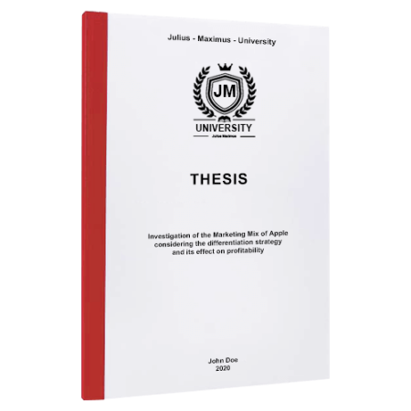 thesis binding Chicago