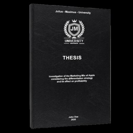Thesis printing Indianapolis