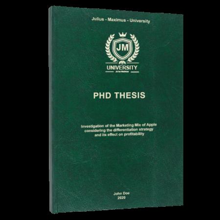 dissertation printing Seattle