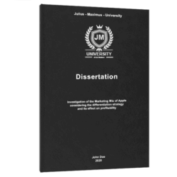 business model canvas dissertation printing binding