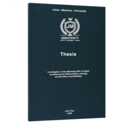 ABC Analysis thesis printing binding