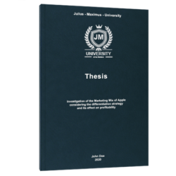 gap analysis thesis printing & binding